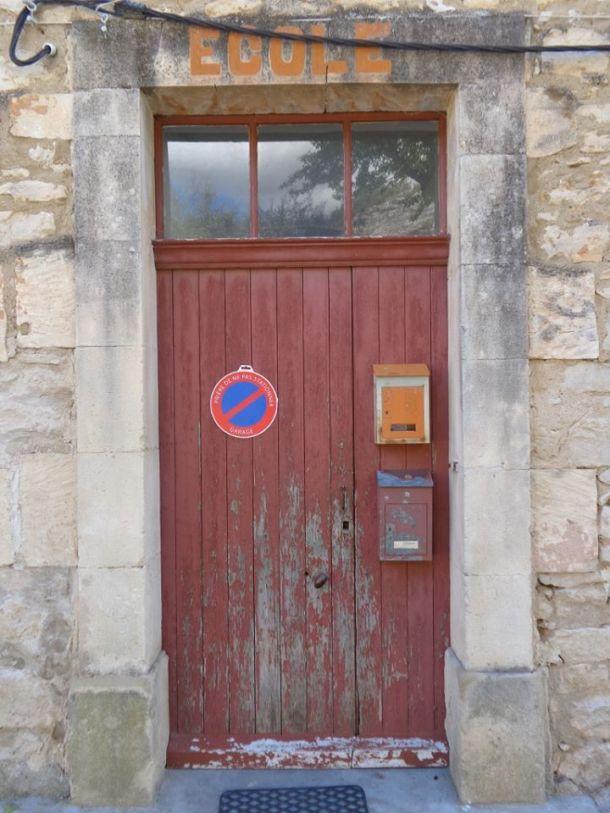 Parkeerverbod op deur
