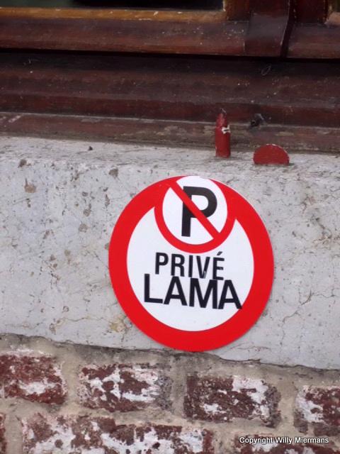 Parkeerplaats Lama