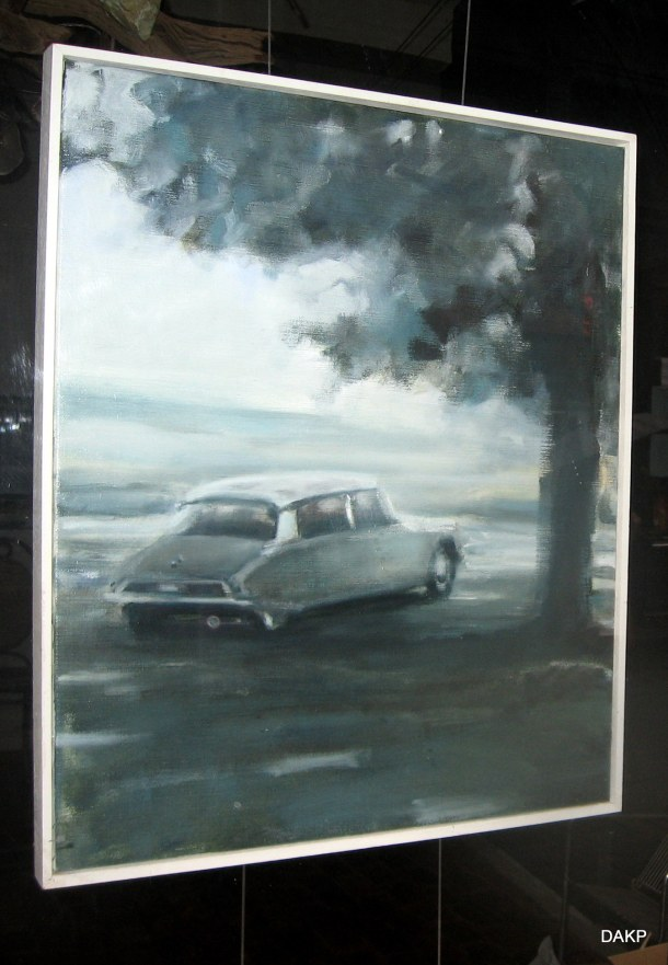 Citroën DS kunst