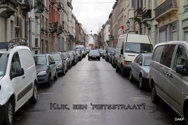 Kijk een fietsstraat