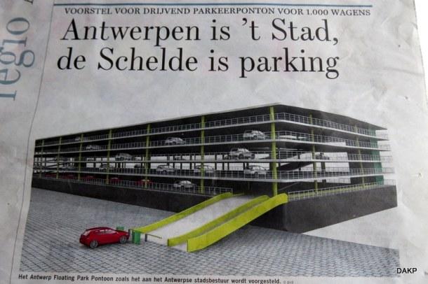 Drijvende parking