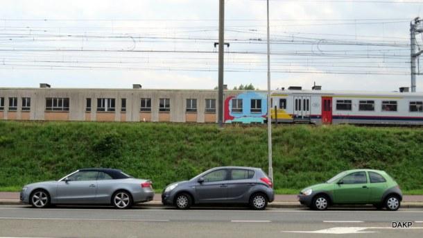 treinlandschapje