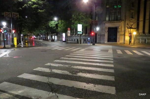 Diagonaal groen San Sebastian