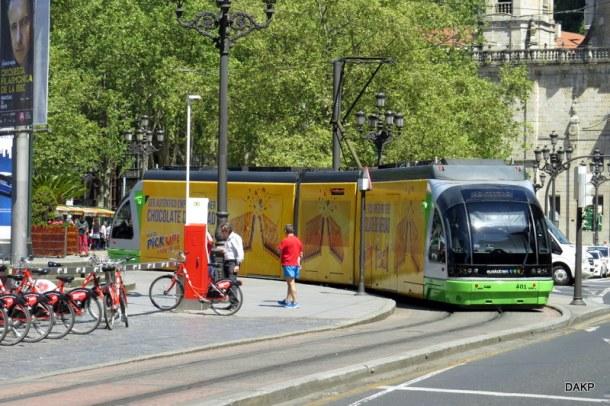 Bilbao tram Koekendoos