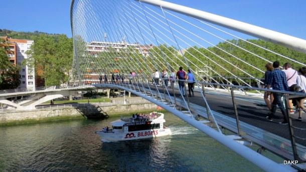 Voetgangersbrug Bilbao (2)