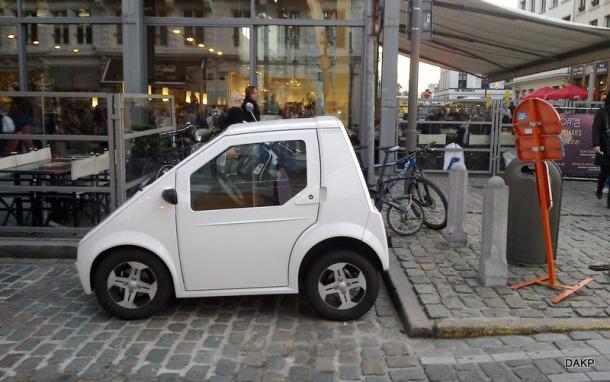 Mini elektrische wagen (1)