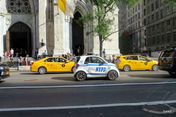 New York Police Department in Smart