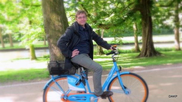 BlueBike in Brugge