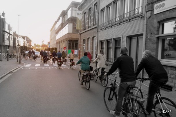 Eerste Critical Mass in Herentals