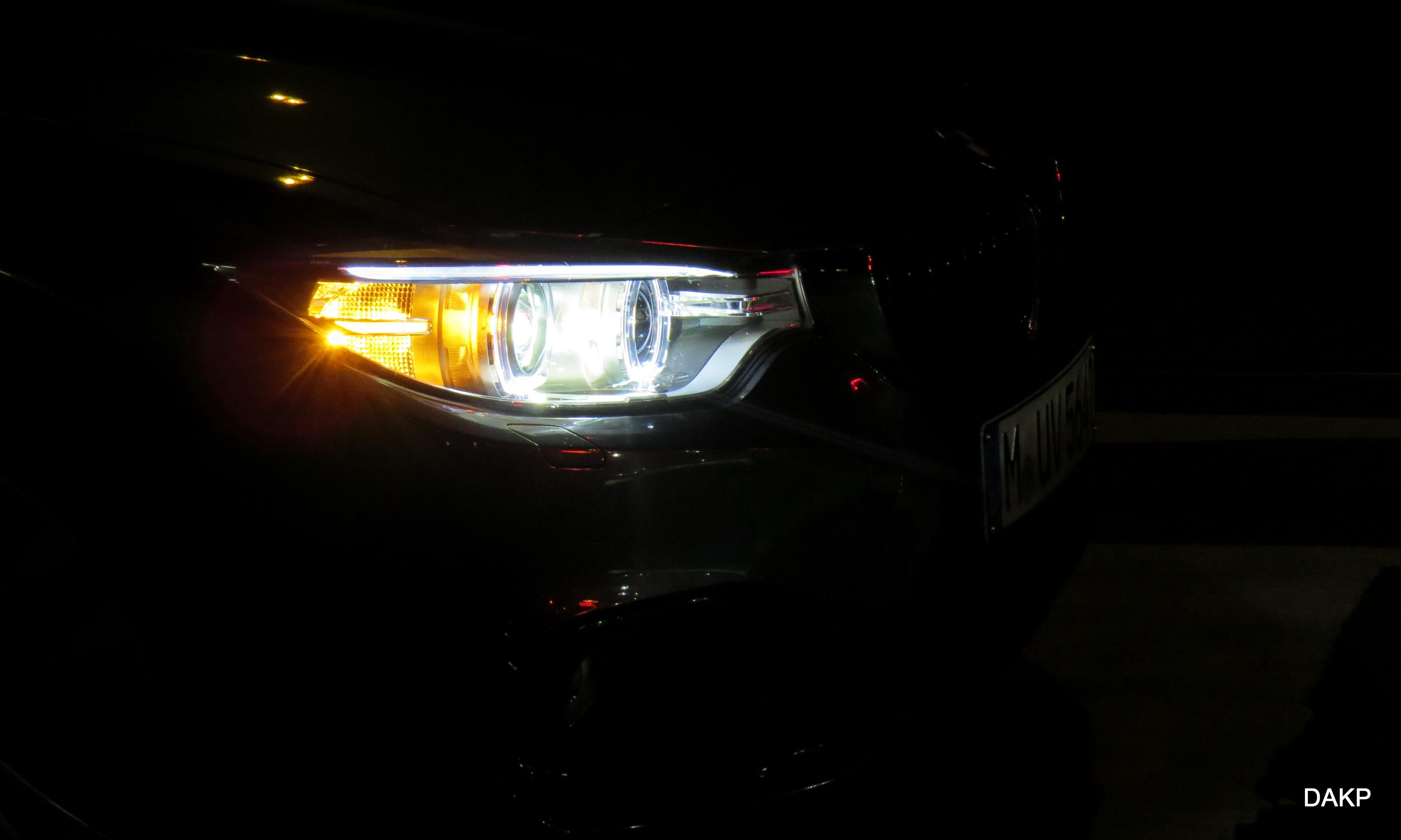 BMW met optie